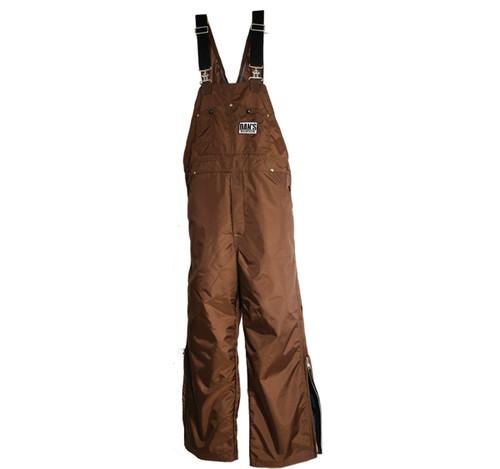Dan's High-N-Dri Brown Waterproof Bibs 56-58