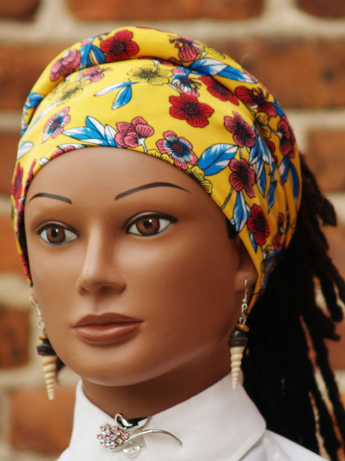 The Cozy Tie is designed for longer and fuller hair. It is an excellent selection for braids, traditional locs, braidlocs, microlocks, nappylocks, relaxed hair and more.  It offers the most comfortable fit and feel. Best of all, you can match up with your outfit to ensure that you continue to look stylish.