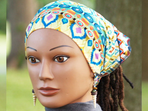Multi-use Cozy Tie for all textures and types of Long Hair including Curly Hair, Locs, Dreads, Dreadlocks & braids