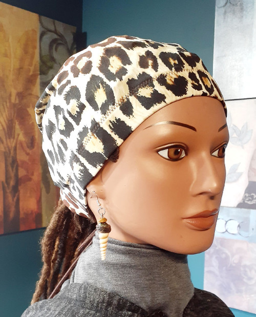 Naturalista Stay on Ponytail Cap/Scrub Cap for locs standard 20 inch circumference for braids, locs, dentists, nurses