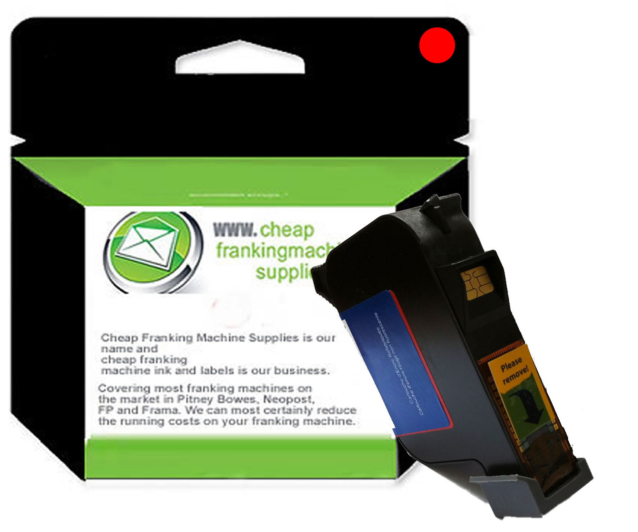 Compatible Francotyp Postalia FP MyMail Ink Cartridge