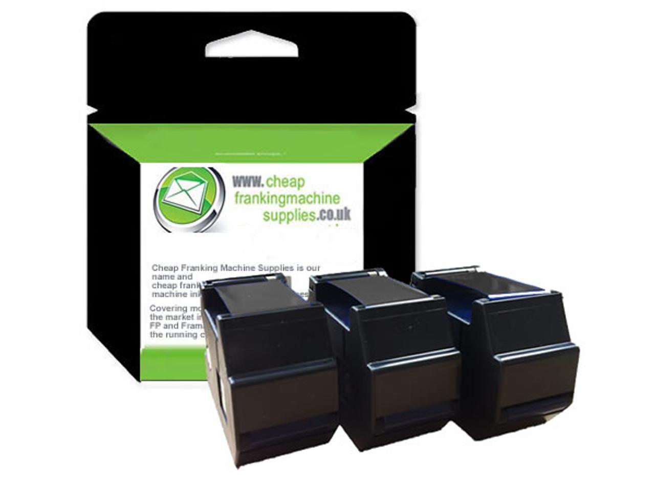 Compatible Francotyp Postalia FP OptiMail 30 Ink Ribbon - 3 Pack