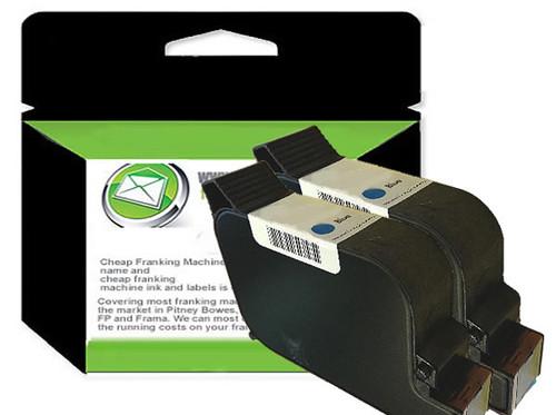 BLUE Compatible Francotyp Postalia FP PostBase Q / Econ Series Ink Cartridge