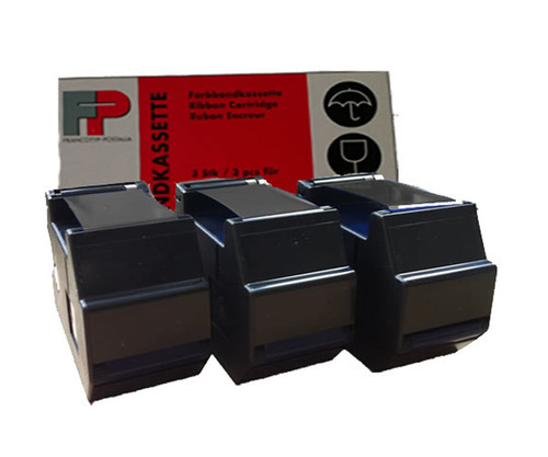 Original Francotyp Postalia FP OptiMail 30 Ink Cartridge - 3 Pack