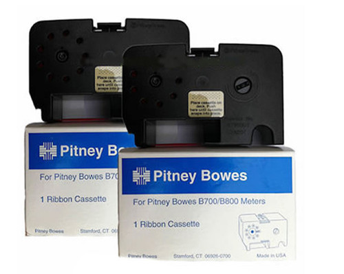 Original Pitney Bowes B700 Ink Ribbon - 2 Pack