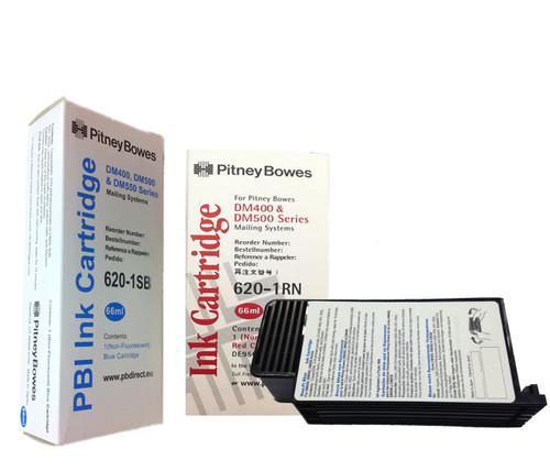Original Pitney Bowes DM500 Ink Cartridge