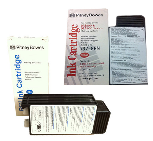 Original Pitney Bowes DM800-DM1000 Ink Cartridge