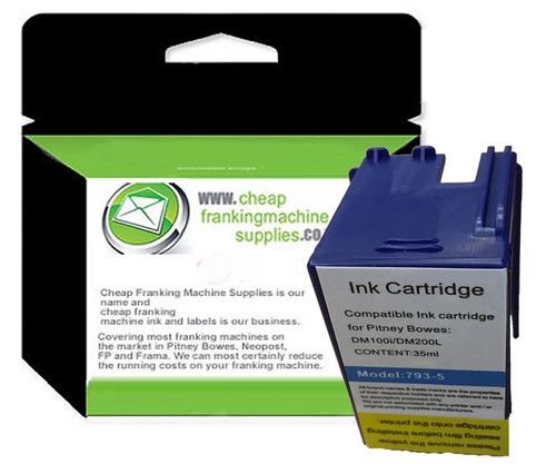 Compatible Pitney Bowes DM100 Ink Cartridge