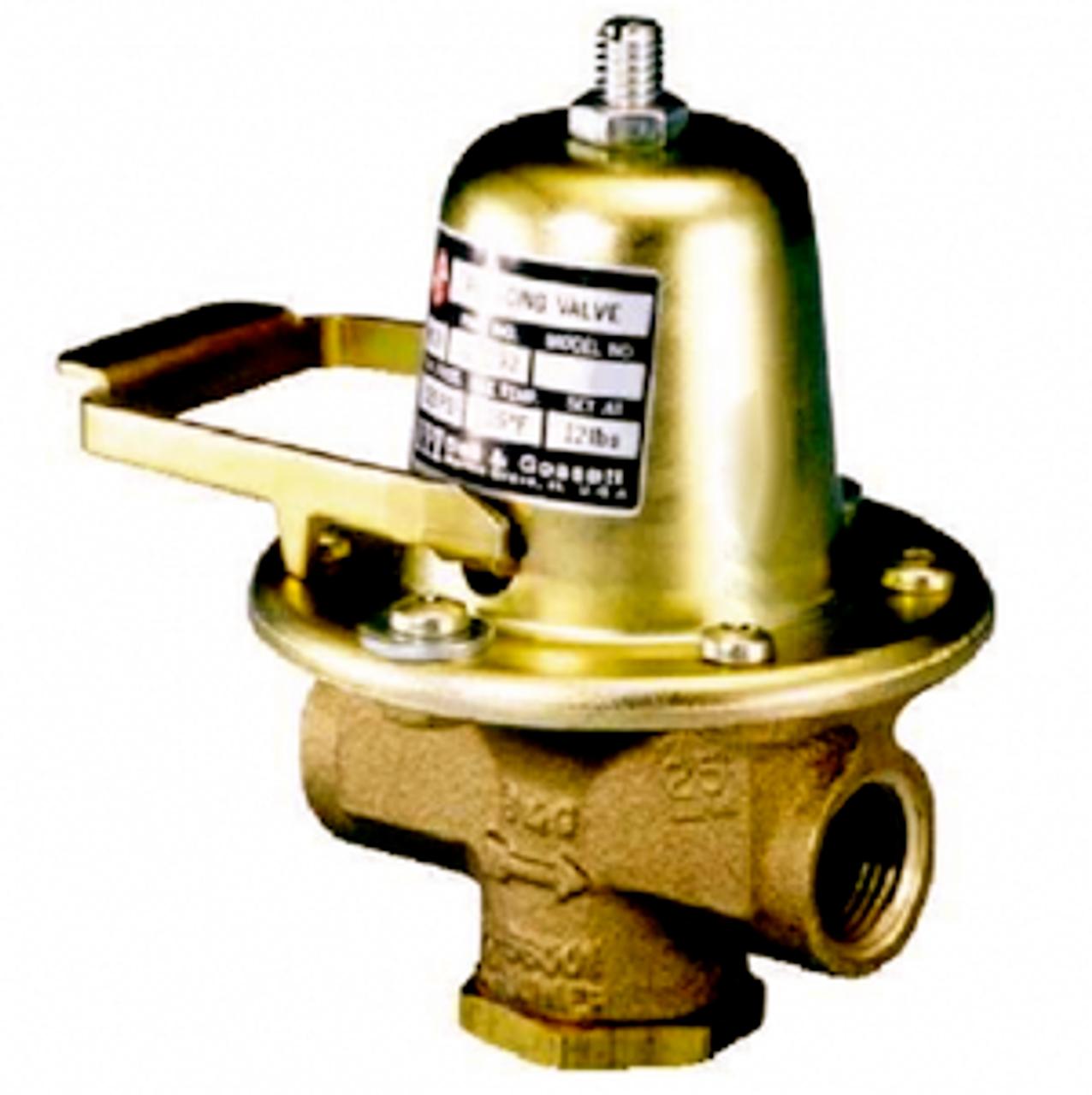 Bell /& Gossett B-38 Lead Free Pressure Reducing Valve Brass 1//2 Npt Connection