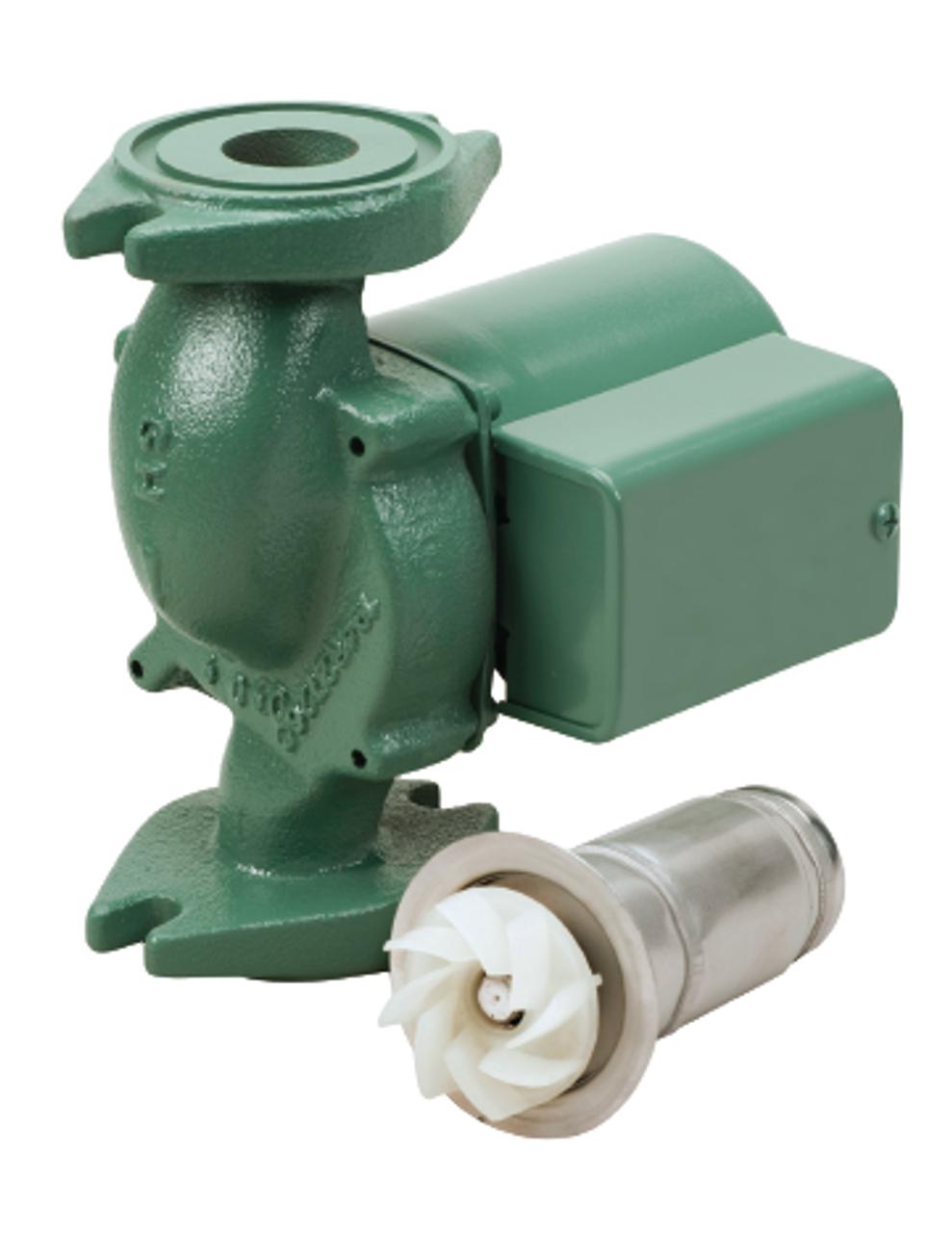 005-F2 Taco Cast Iron Pump With 1/35 HP on taco aquastat wiring, taco controller wiring, taco pump wiring, taco controls wiring, taco zone valve wiring diagram, taco relay wiring,