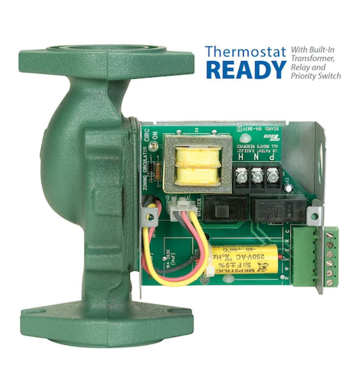 008-ZF6-2IFC Taco Cast Iron Priority Zoning Circulator 1/25 HP | National  Pump Supply
