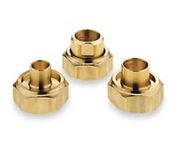 "113203LF - Bell & Gossett 1/2"" Bronze Sweat UC-1/2S Flange For NBF Bronze Booster Pumps"