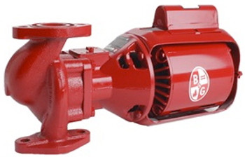 102206 Bell Gossett PR Pump Cast Iron Body 1/6 HP