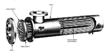 WU64-4 Bell & Gossett Tube Bundle For Heat Exchanger