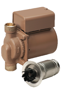 "006-BC4 Taco Bronze Pump With 1/2"" Sweat Connection"