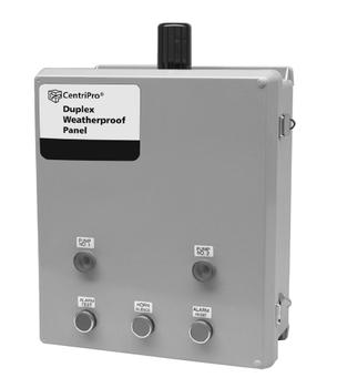 Goulds D32540 SES Duplex Weatherproof Control Panel