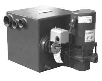 80LP Shipco Steel Condensate 8 Gallon Pump With 1/3 HP