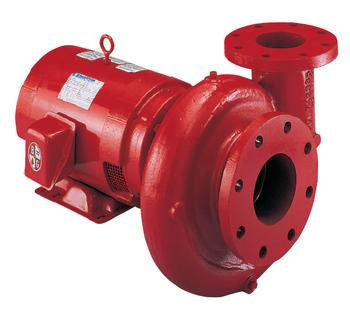 Bell & Gossett Series 1531 Model 2-1/2AB Pump 1 HP 1750 RPM Motor
