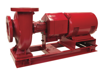 1.25BC Bell & Gossett e-1510 Pump 1 HP ODP Motor 1750 RPM 3 Phase
