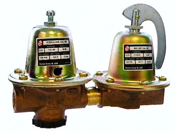 110199LF Bell & Gossett Model 8 Dual Unit Relief Valve