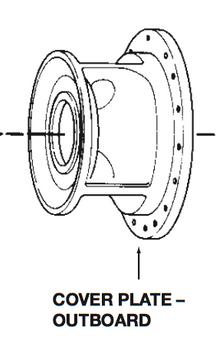 P76052 Bell & Gossett VSC/VSCS Outboard Volute Cover Plate