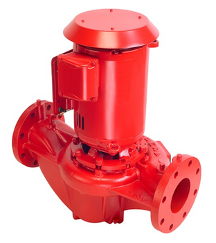 4380 Armstrong 15HP Close Coupled Vertical In-Line Pump 6x6x10