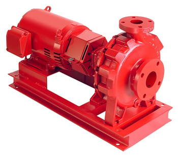 Armstrong Model 4030-6x5x11.5 30hp Base Mounted Pump