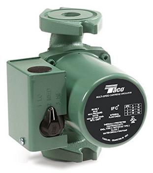 0015-MSF3-1IFC Taco Cast Iron 3 Speed Circulating Pump Rotated Flange