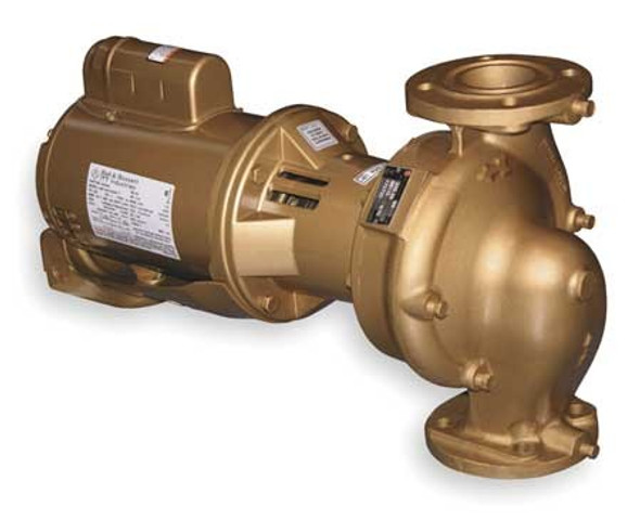 172715LF - Bell Gossett Series 60 Pump B608S 1/2 HP Motor