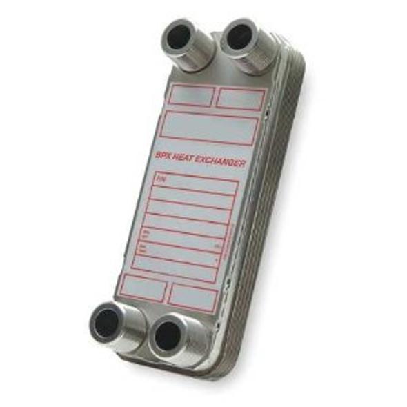 """5-707-10-020-002 Bell & Gossett BPDW410-20 (1"""" MPT) Heat Exchanger"""