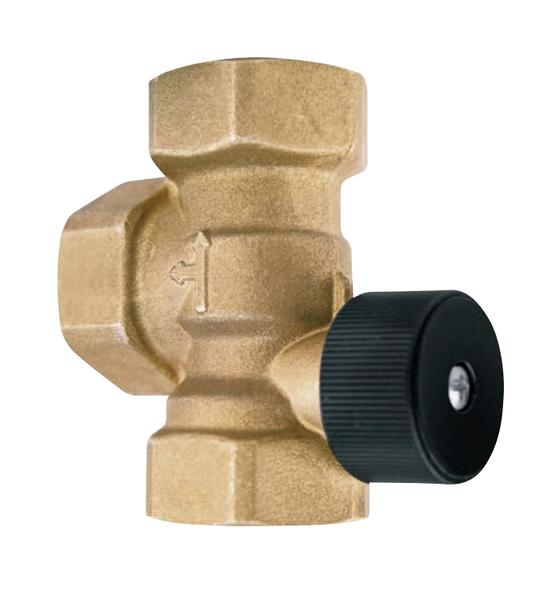 """107038 Bell & Gossett 1-1/4"""" NPT Bronze HydroTrol Flow Valve"""
