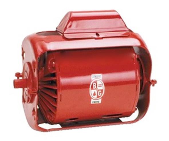 169040 Bell Gossett 1/4 HP 1750 RPM Motor (with footed bracket)