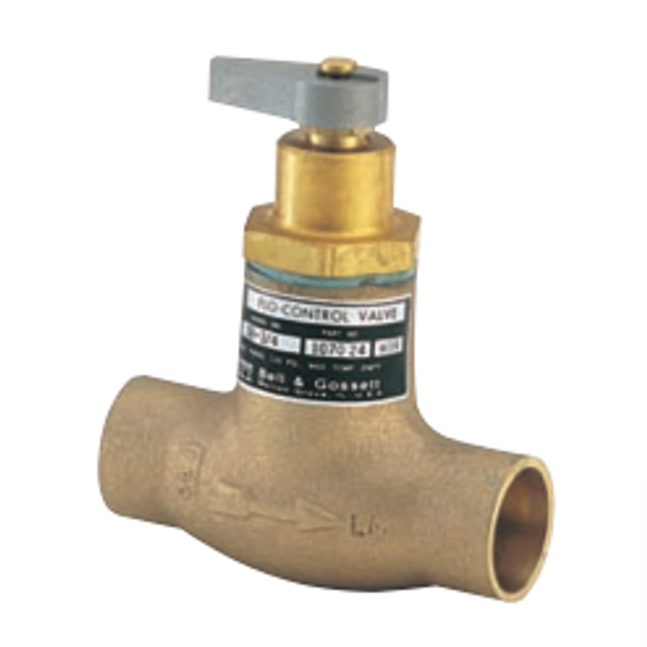 "107024 Bell & Gossett  SB-3/4"" Sweat Bronze Straight Flow Control Valve"