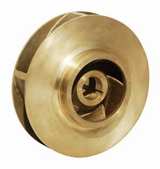 """186371LF Bell & Gossett Bronze Pump Impeller 3-5/8"""""""