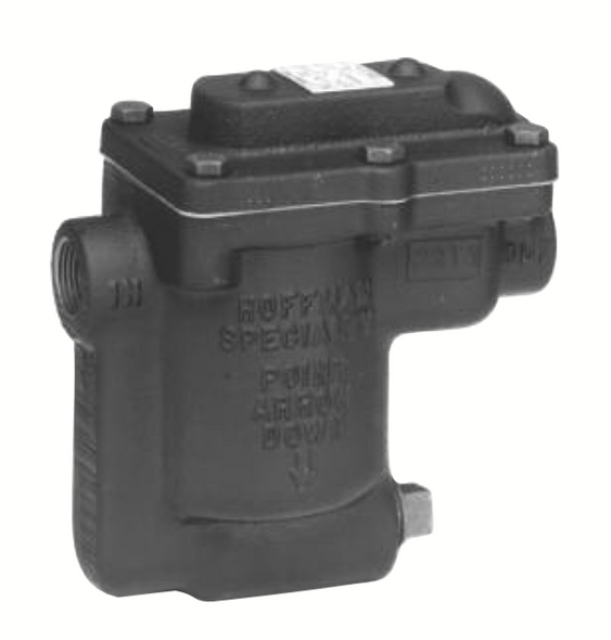 """404367 Hoffman B2180B-3 3/4"""" Inverted Bucket Steam Trap W/ Strainer & Thermic Vent"""