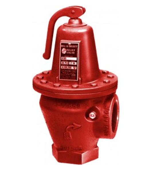 110081 Bell & Gossett 3301-45 ASME Safety Relief Valve