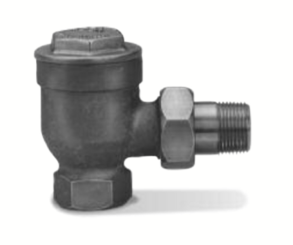 """402003 Hoffman Thermostatic Steam Trap 3/4"""" Angle Pattern"""