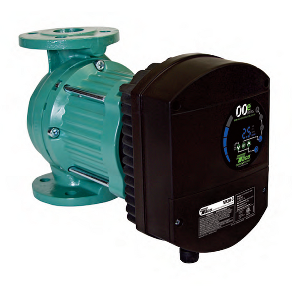 "VR25-3 Taco 00e Series ECM Hi-EFF Web-Enabled V-Spd - 2-1/2"" Pump"