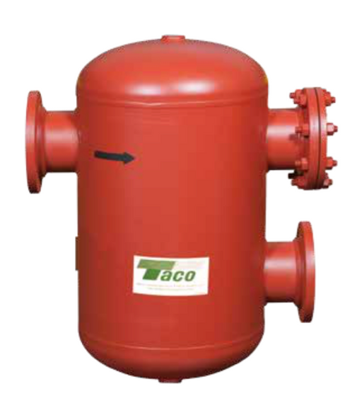 "AC04F-125 Taco Air Separator Tank Type 4"" Flanged With Strainer"