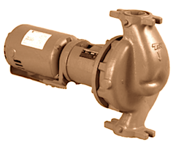 """1636D Taco Stainless Steel Pump 1-1/2HP 1 PH 2"""" Flange"""