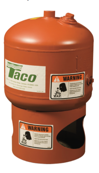 CX42-125 Taco Diaphragm 11 Gal Expansion Tank