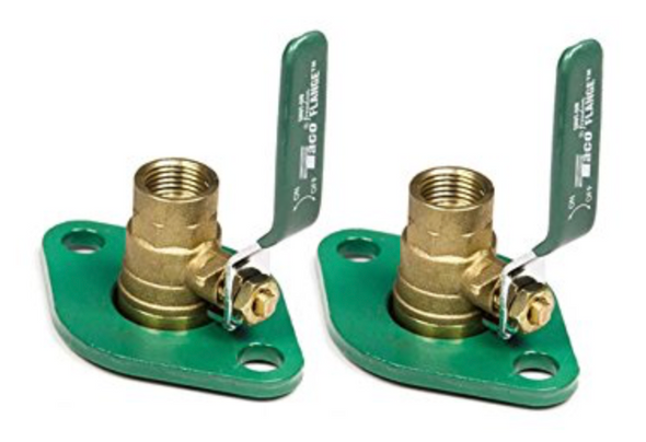 SFL-075T Taco Threaded Shut Off Freedom Swivel Flange Set