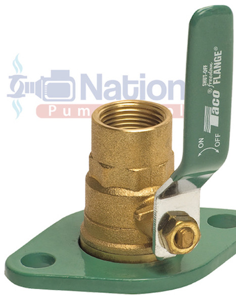 "SFL-125T-0012 Taco Shut-Off Swivel Freedom Flange Set 1-1/4"" NPT"