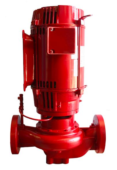 Bell & Gossett e-80 Model 2.5 x 2.5 x 7B In-Line 5HP Pump