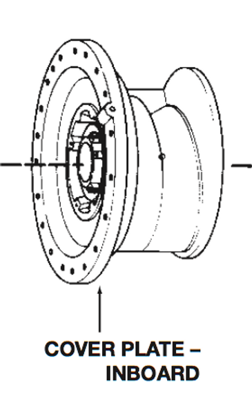 P75942 Bell & Gossett VSC/VSCS Inboard Volute Cover Plate w/ Wear Ring