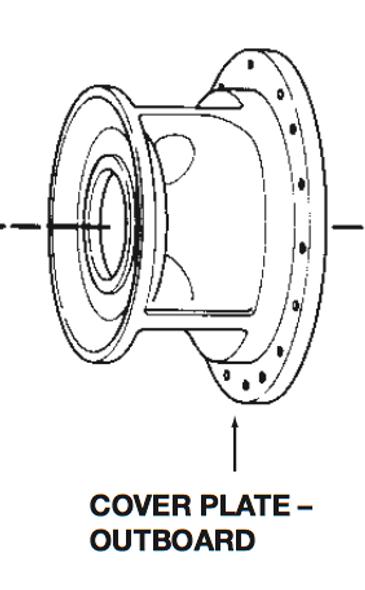 P75131 Bell & Gossett VSC/VSCS Outboard Volute Cover Plate