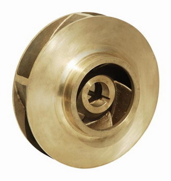 """08-105-924-053 Bell & Gossett Series HSC3 Bronze Impeller 12.70"""" OD"""