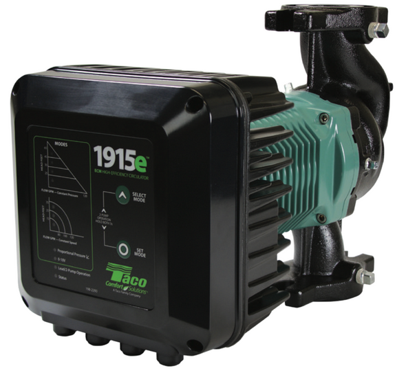 1915e-F Taco Ductile Iron ECM High Efficiency Circulator Pump