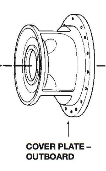 P75714 Bell & Gossett  Outboard Volute Coverplate