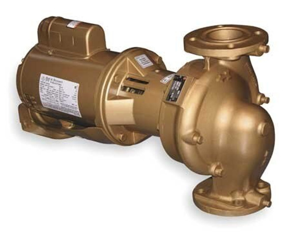 1EF003LF Bell & Gossett Series e-60 AB 2 x 5.25 Pump 3/4 HP